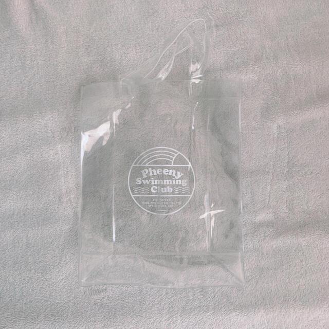 PHEENY(フィーニー)のフィーニー Pheeny Swimming Club クリアバッグ レディースのバッグ(トートバッグ)の商品写真