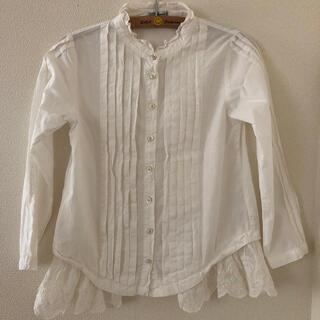 美品ゴートゥーハリウッドレースフリルシャツ130