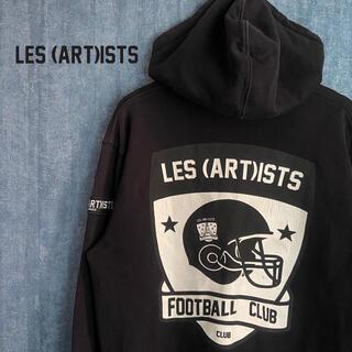 エルエイチピー(LHP)のCLUB LES(ART)ISTS FOOTBALL CLUB ジップ パーカー(パーカー)