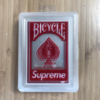 シュプリーム(Supreme)のsupreme bycycle clear playing cards トランプ(トランプ/UNO)