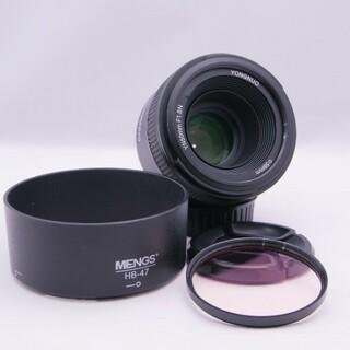 Nikon用 単焦点レンズ YN50mm F1.8 Nikon ニコン フード(レンズ(単焦点))