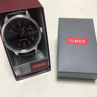 タイメックス(TIMEX)のTIMEX TW2R8550 ブラック ほぼ未使用(腕時計(アナログ))