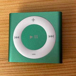 アイポッド(iPod)のiPod shuffle 第4世代 エメラルドグリーン(ポータブルプレーヤー)