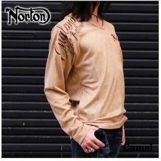 ノートン(Norton)のSALE!! 7990円→5490円【NORTON(ノートン)メンズ】フェイクス(Tシャツ/カットソー(七分/長袖))