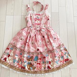 アンジェリックプリティー(Angelic Pretty)のAngelic Pretty Wonder Toy jsk カチューシャ セット(ひざ丈ワンピース)