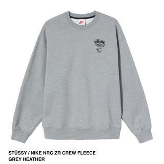 ステューシー(STUSSY)のSTÜSSY / NIKE CREW FLEECE GREY Sサイズ(スウェット)