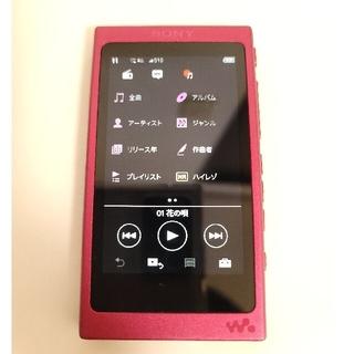 値下げ NW-A35 WALKMAN ピンク 16GB  microSD対応