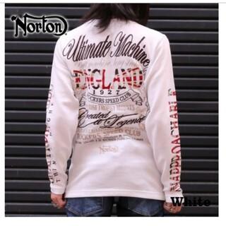 ノートン(Norton)のSALE!! 6990円→4990円新品NORTONノートンMAX刺繍ロンT(Tシャツ/カットソー(七分/長袖))
