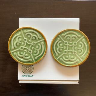 ジェンガラ(Jenggala)のジェンガラケラミック 陶器コースター 2個セット Jenggala ①(食器)