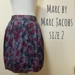 マークバイマークジェイコブス(MARC BY MARC JACOBS)のMarc by Marc Jacobs 総柄スカート(ミニスカート)