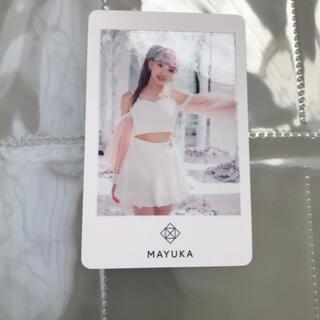 ソニー(SONY)のNiziu フォトカード マユカ(K-POP/アジア)