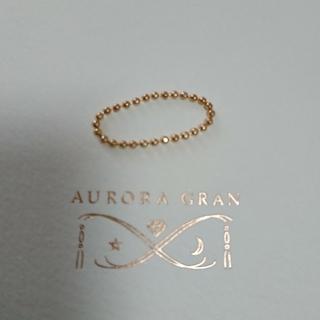 オーロラグラン(AURORA GRAN)のK18  チェーンリング  AURORA GRAN (リング(指輪))