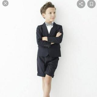 コドモビームス(こども ビームス)の専用smoothy 110 ブラック ハーフパンツ(ドレス/フォーマル)