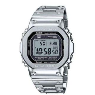 ジーショック(G-SHOCK)の【新品未使用】G-SHOCK GMW-B5000D-1Jメタルシルバー(腕時計(デジタル))