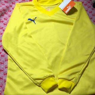 プーマ(PUMA)のPUMA(プーマ )⭐️キッズ⭐️新品未使用⭐️ロンT ⭐️イエロー(Tシャツ/カットソー)