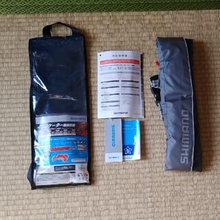 シマノ(SHIMANO)のシマノ ライフジャケット(ウェストタイプ)(ウエア)
