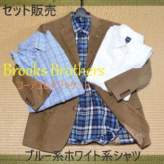 Brooks Brothers - 【ブルックスブラザーズ-シャツ3枚セット】コーデュロイ キャメル ブラウン
