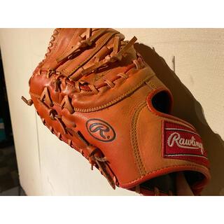 Rawlings - ファーストミット 左利き用 ボール2つ付き