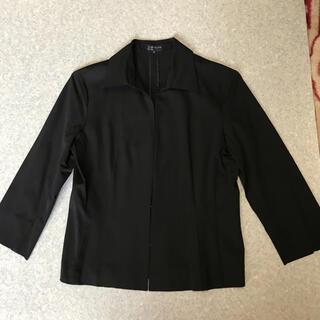 クミキョク(kumikyoku(組曲))のKU M IKYOKUの黒の薄手ジャケット(テーラードジャケット)