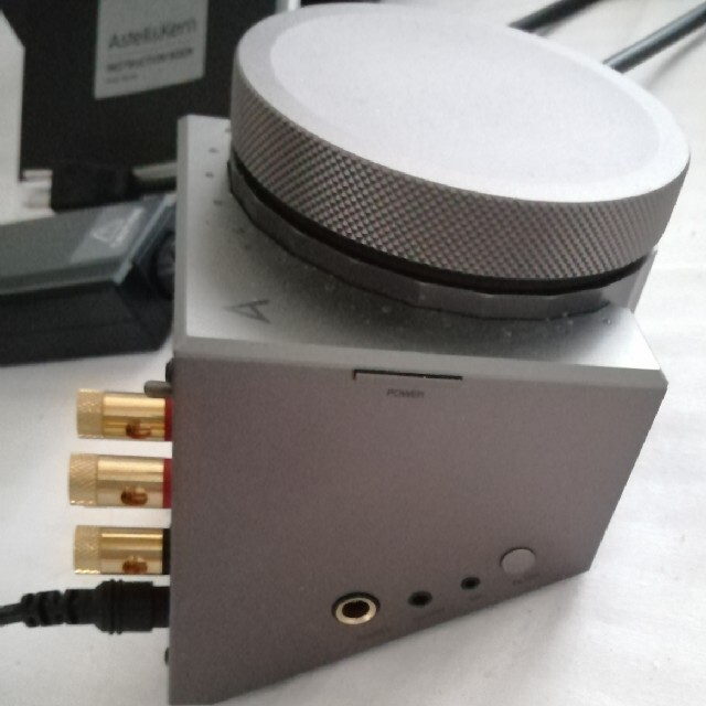 iriver(アイリバー)のAstell&Kern ACRO L1000 ガンメタル スマホ/家電/カメラのオーディオ機器(アンプ)の商品写真