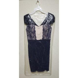 デイジーストア(dazzy store)のキャバドレス レース切り替えミニドレス MLサイズ(ナイトドレス)