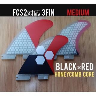 新品 FCS2対応 トライフィン(M)(サーフィン)