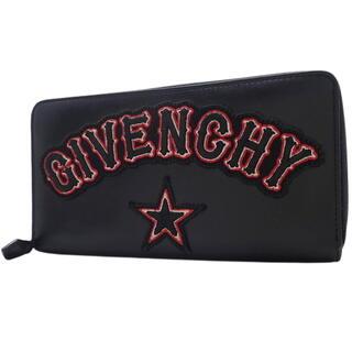 ジバンシィ(GIVENCHY)のジバンシー ICONIC PRINT 長財布 ブラック黒 40800062695(長財布)