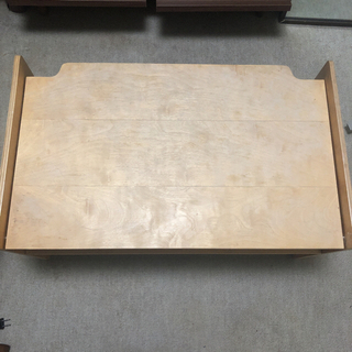 MUJI (無印良品) - MUJI 収納付き テーブル