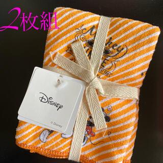 Disney ミッキーマウス ふきん 2枚セット(その他)