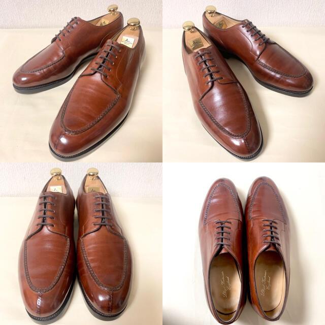 EDWARD GREEN(エドワードグリーン)の激レア ロイド別注 エドワードグリーン ドーバー  オールソールカスタム メンズの靴/シューズ(ドレス/ビジネス)の商品写真