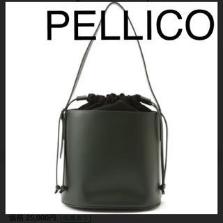ペリーコ(PELLICO)のペリーコ バケツバッグ ブラック PELLICO(ショルダーバッグ)