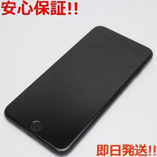 アイフォーン(iPhone)の美品 SIMフリー iPhone7 PLUS 128GB ブラック(スマートフォン本体)