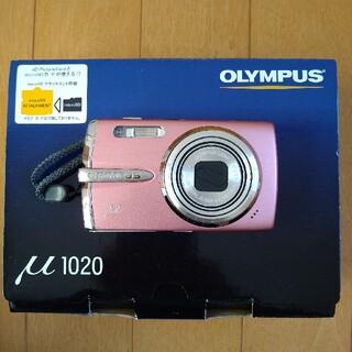 オリンパス(OLYMPUS)のOLYMPUSオリンパスデジタルカメラμ1020デジカメ(コンパクトデジタルカメラ)