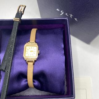 アガット(agete)のアガット クラシック【A.CNO.2SET時計】定価99000円(腕時計)