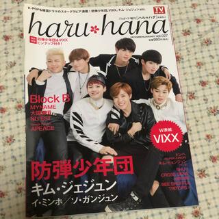 ボウダンショウネンダン(防弾少年団(BTS))のharuhana 雑誌 BTS(音楽/芸能)