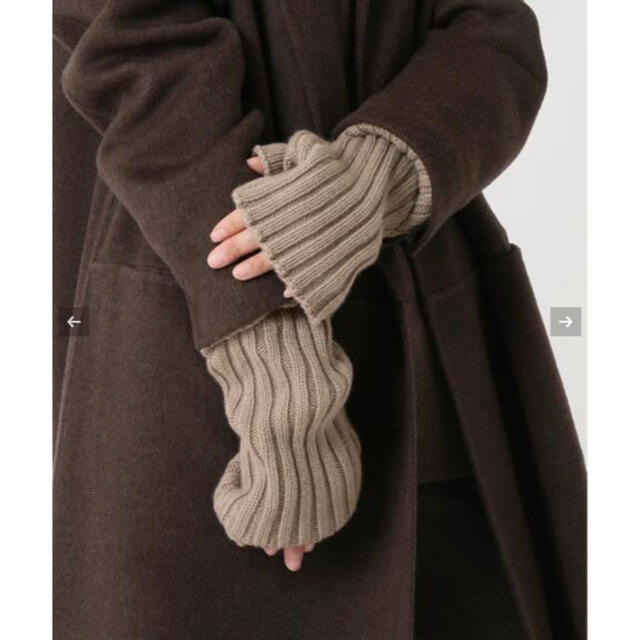 DEUXIEME CLASSE(ドゥーズィエムクラス)の【新品】Deuxieme Classe★CARIAGGI アームウォーマー レディースのファッション小物(手袋)の商品写真