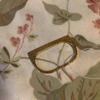 ヴィアバスストップ(VIA BUS STOP)の二本指 リング 指輪(リング(指輪))