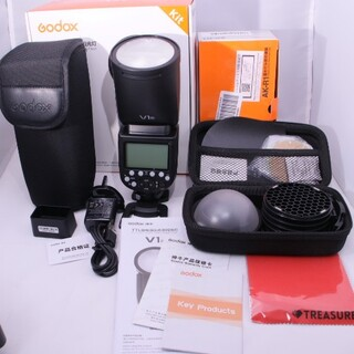 GODOX V1 - N(屋内一度使用)  アクセサリーキット(新品) ニコン(ストロボ/照明)