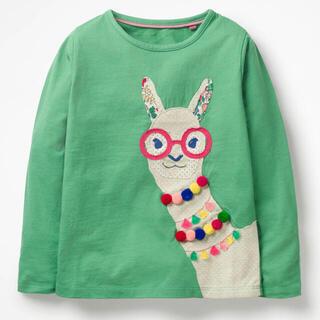 Boden - 新品 ミニボーデン アルパカアップリケ 長袖Tシャツ 95 100