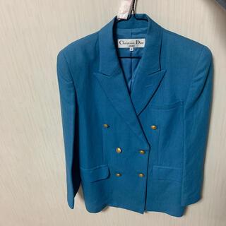 クリスチャンディオール(Christian Dior)のクリスチャンDIOR ジャケット 左肩やや日焼けあり(テーラードジャケット)