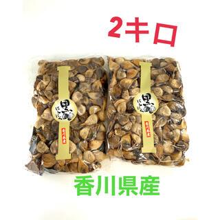 黒ニンニク 2キロ 香川産(野菜)