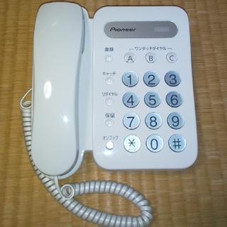 パイオニア(Pioneer)のパイオニア電話機 TF-12-w(その他)