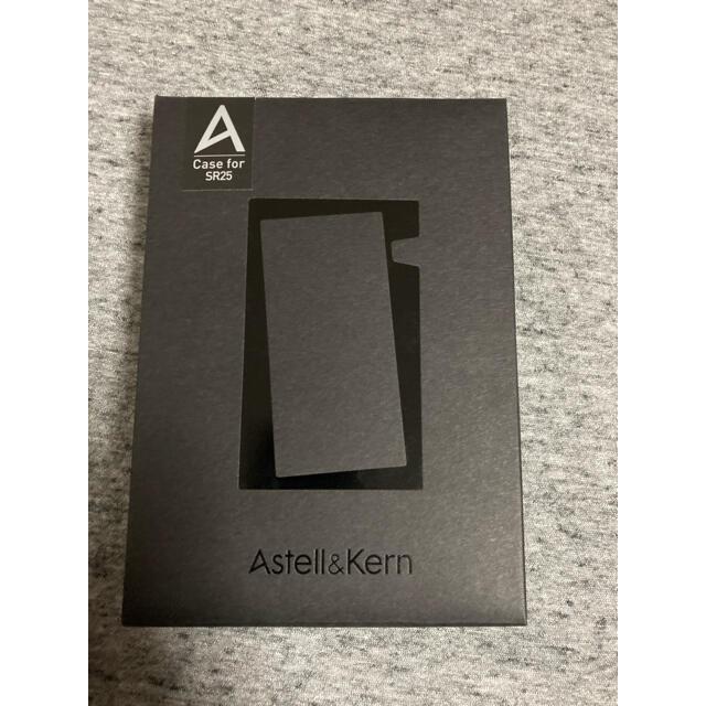 iriver(アイリバー)のAstell &Kern SR25用 純正ケース ブラック スマホ/家電/カメラのオーディオ機器(ポータブルプレーヤー)の商品写真