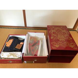 ナイキ(NIKE)の新品 JORDAN 23/501 DENIM PACK 73 of 2323(スニーカー)