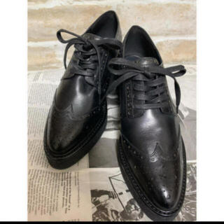 プールサイド(POOL SIDE)の新品♡オックスフォード22.5センチ(ローファー/革靴)