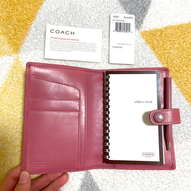 COACH(コーチ)のコーチ 手帳 アドレス帳 レディースのファッション小物(その他)の商品写真
