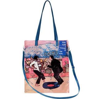 ラフシモンズ(RAF SIMONS)の【新品/残り1点】film photo tote bag #No.21 Blue(トートバッグ)