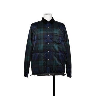サカイ(sacai)の新品 Sacai Plaid Satin Shirt サイズ2(M)(ブルゾン)