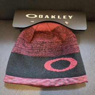 オークリー(Oakley)の新品 未使用 【OAKLEY】ニット帽 リバーシブルタイプ(ニット帽/ビーニー)