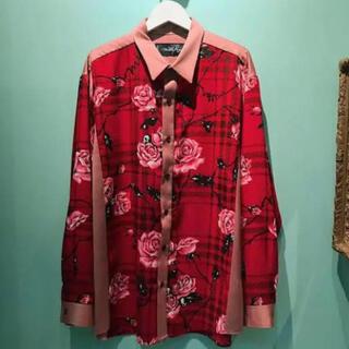 ミルクボーイ(MILKBOY)のMILKBOY ミルクボーイ 薔薇 ROSEシャツ バラ ローズ シャツ(シャツ)